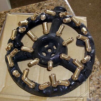 32 Tip Round Nozzle Jet Burner Natural Gas
