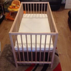 Spacesaver child's Cot bed with Mattress