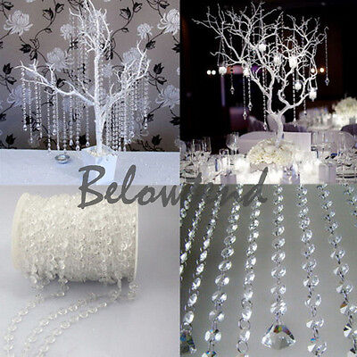 99ft-Wedding-Party-Iridescent-White-Garland-Acrylic-Crystal-Beads-Strands-30M