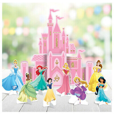 Birthday Princess Decorations (Disney Princess Table Decoration Kit Girls Birthday Party Supplies ~)