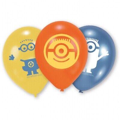 s Ballons Kindergeburtstag Deko Mitgebsel Minion (Minion Geburtstag Ballons)