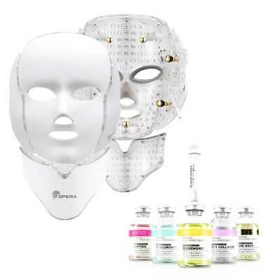 OPERA LED Mask Face Neck Mask Galvanic Spectrum LED Mask + LEBODY SERUM 5EA