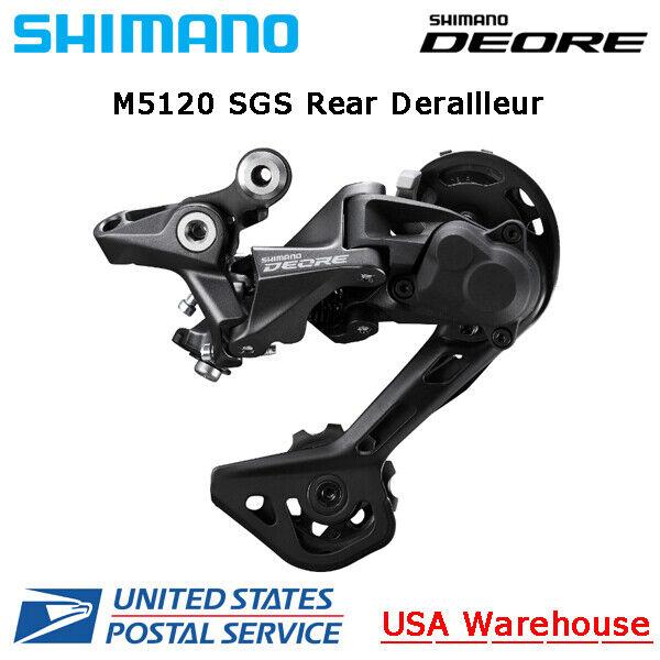 Shimano Deore Shadow+ RD-M5120 10/11 Speed Rear Derailleur SGS Long Cage MTB OE
