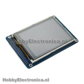 3.2 TFT Touch Screen Panel met SD Card slot