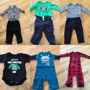 6 month, 9 month and 6-12 month boy clothing