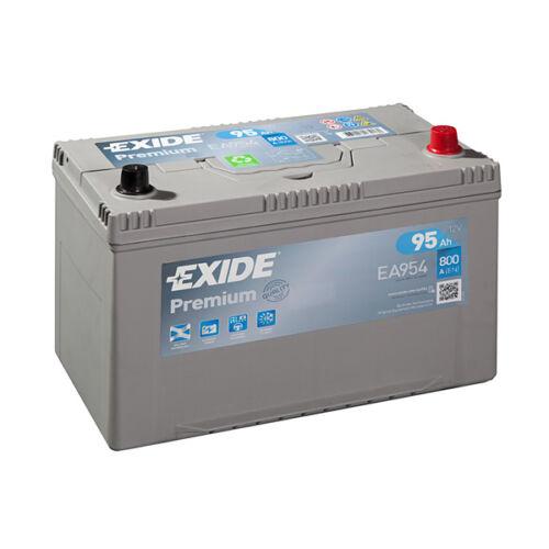 1x Exide Premium 95Ah 800CCA 12v Type 249 Car Battery 4 Year Warranty - EA954