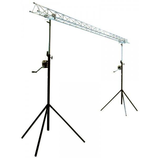 diy lighting truss. ibiza lightbridge winch truss gantry 4m disco dj lighting stand goalpost light diy