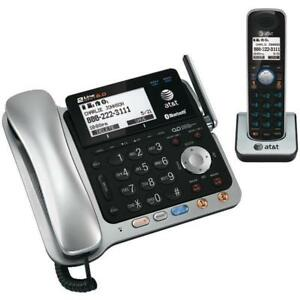 AT&T DECT 6.0  2 LINE Corded/Cordless Bluetooth Phone System ( TL86109). SUPER SALE $99.00 NO TAX.