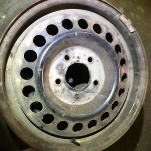 "Set of 4 wheels. 15"" 4-1/4 "" bolt pattern"