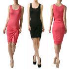 Juniors Sleeveless Wrap Dresses