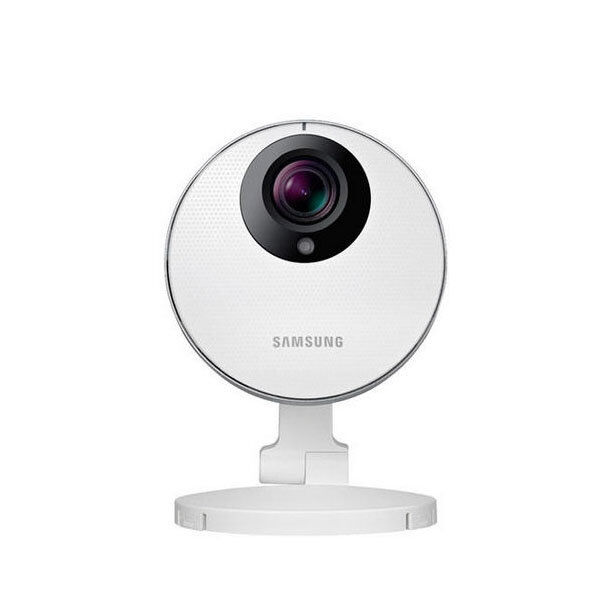 Samsung SmartCam HD Pro Wireless High-Definition Security Camera White SNHP6410BN