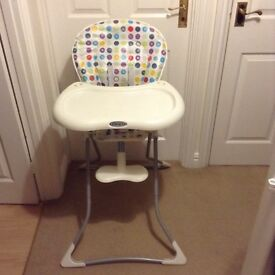 Excellent condition baby high chair