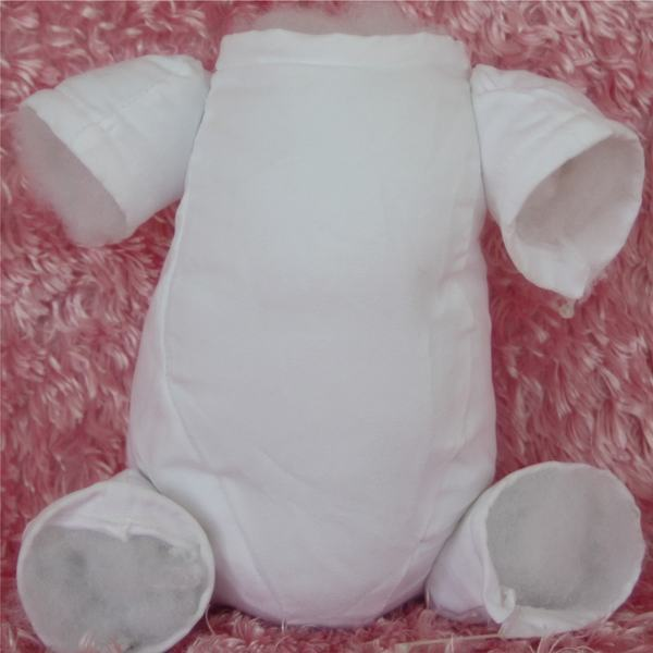 """Well-made Doe Suede Cloth Body for 22/"""" Reborn Baby Dolls with Full Arms and Legs"""
