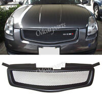 Nissan maxima JDM Blk Sport Badgeless Mesh ABS Front Grille NEW