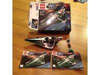 Lego stars wars Saesee Tiins Jedi Starfighter