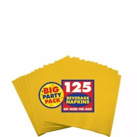 JOB LOT: Party Napkins 2ply/3ply - Various Colours