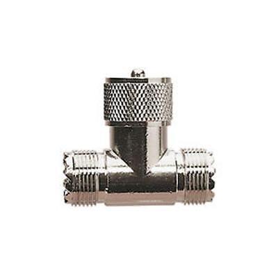 Uhf / PL259 T-Stück Buchse/Männlich/Buchse CB Vhf Marine Amateur Antenne ()