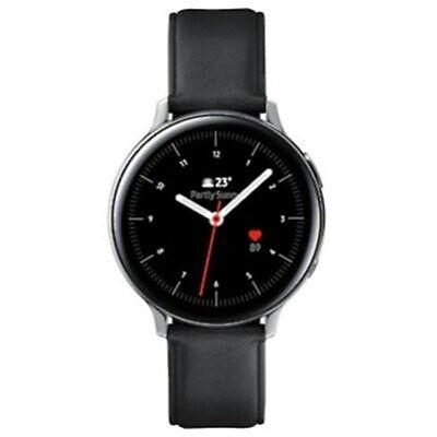 Samsung Galaxy Watch Active 2 LTE 44mm Edelstahl Silver Echtlederarmband Neu OVP