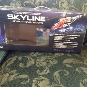 Skyline toy RC helicopter used
