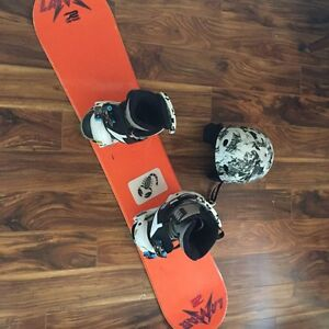 Boys snowboard set