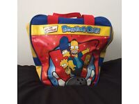 Rare Simpsons bowling ball with bag