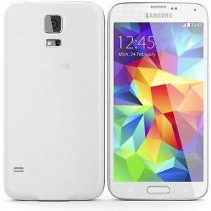 White Samsung Galaxy S5 from Rogers