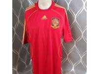 Spain 2008 World Cup winning kit