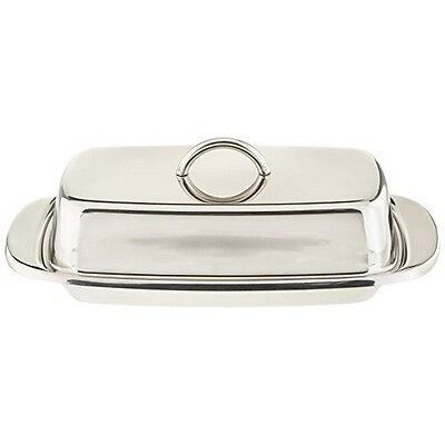 Norpro 282 Double Covered Butter Dish S/S NEW