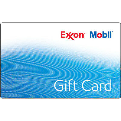 $100 ExxonMobil Gas Physical Gift Card - Standard 1st Class Mail Delivery
