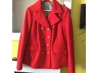 Laura Ashley red jacket