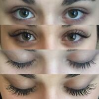 Beautiful Eyelash Extensions at an affordable price!