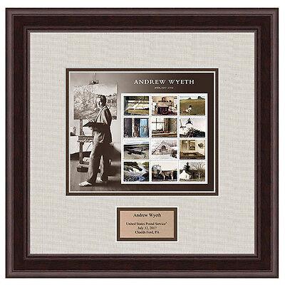 USPS New Andrew Wyeth Framed Art