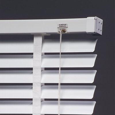 Schöner Wohnen Aluminium Jalousie 50mm weiss Rollo Jalousette Sonnenschutz