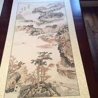 Original Chinese Landscape Watercolor 行旅圖