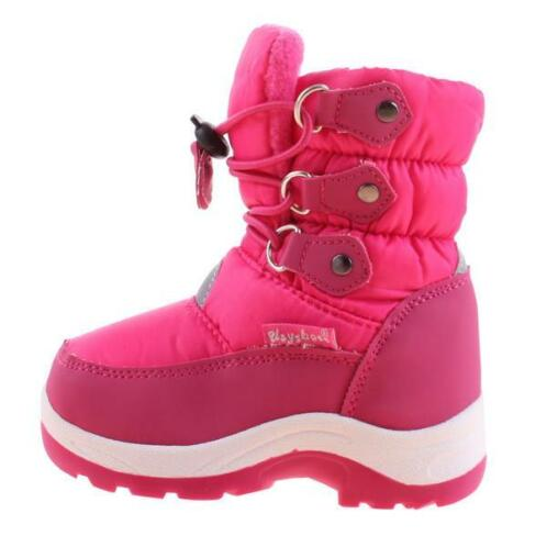 Playshoes Snowboot Roze