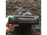 Sony xplode stereo with front aux port