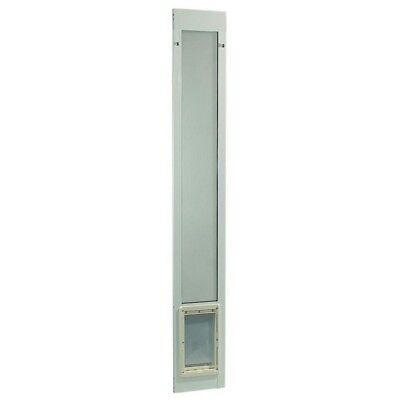Patio Pet Panel Door Cat Dog Doggie Aluminum Sliding Glass Medium Flap Exterior