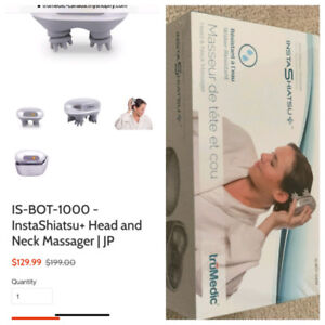 truMedic Head and Neck Massager