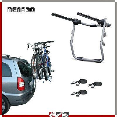 Portabicicletas Trasero Coche 3 Bicicleta Para Leon St Rails Escl. Techo Vidrio