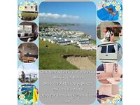 Caravans to hire Haven Doniford bay - BOOK TODAY FOR £25