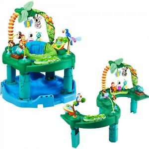 Evenflo Triple Fun Jungle Exersaucer and Play Station