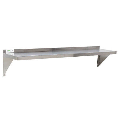 12 X 60 Nsf Wholesale Stainless Steel Restaurant Kitchen Solid Wall Shelf