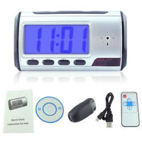 Camera Video DVR Digital Alarm Clock Reveille Matin Espion Spy