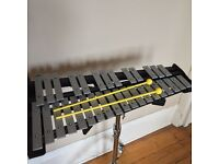 Glockenspiel and accessories.