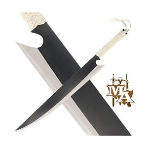 Bleach Ichigo Zangetsu Wooden Cosplay Sword Replica Anime Tensa Bankai