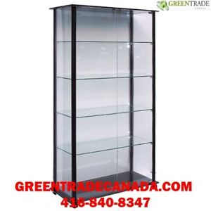 Glass showcases, Displays, Glass towers - affordable prices!