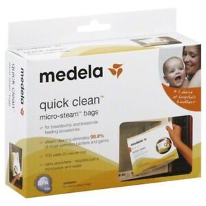 Medela Quick Clean Micro-Steam Bags (NEW)