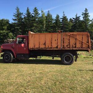 Good working dump truck new inspection