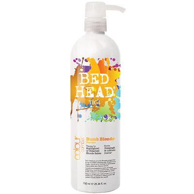 TIGI BED HEAD DUMB BLONDE COLOUR COMBAT Shampoo 750ml SHIP FREE!!