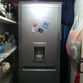 Large fridge freezer with water dispenser